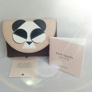 Kate Spade Spademals Gentle Panda Cardholder